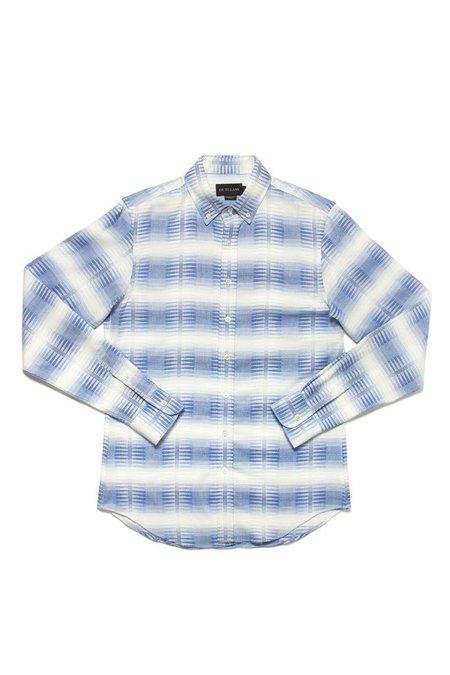 Outclass Southwestern L/S Shirt - Blue Ombre