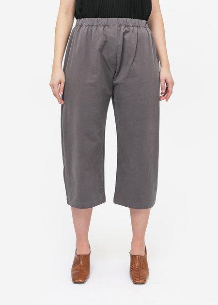 Priory Bow Pant - Smoke Grey