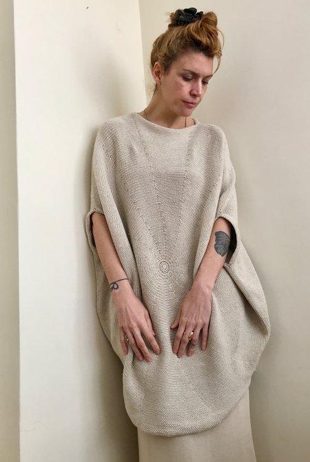 Lauren Manoogian Circle Dress in Natural