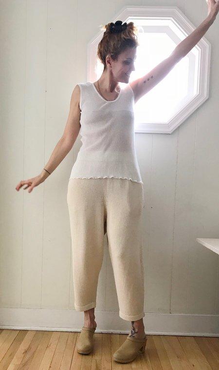 Lauren Manoogian Accordion Tank in White