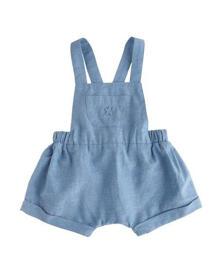 Kids Tocoto Vintage Blue Overalls