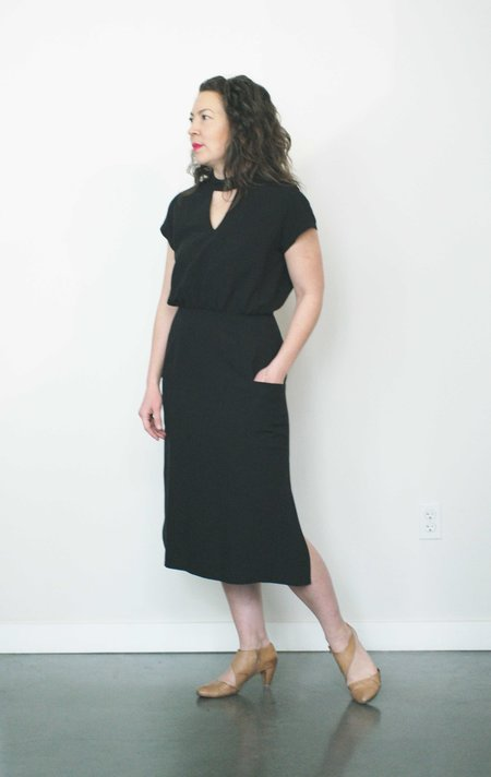 Jennifer Glasgow Mast Dress in Black