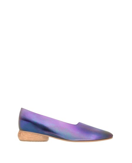 Sydney Brown Angle Flat Iridescent