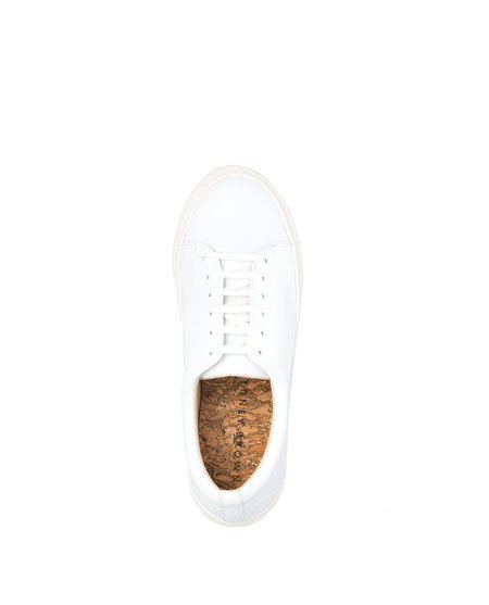 Sydney Brown Low Sneaker White