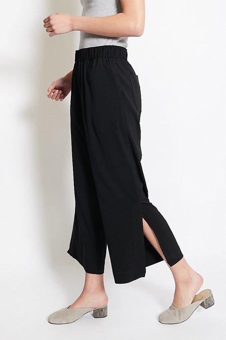 Mijeong Park Elastic Waist Cropped Trousers