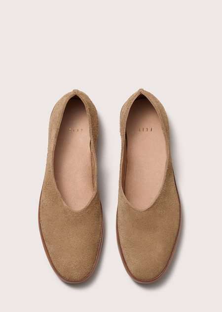 FEIT Hand Sewn Ballet - Tan