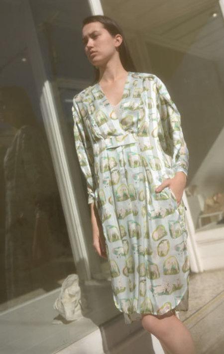 Carven Agneau Dress