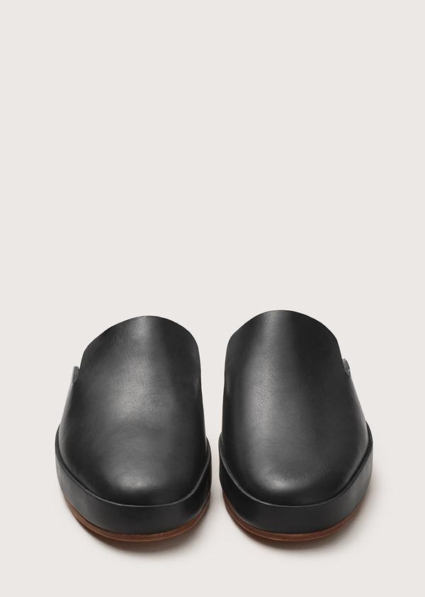 Men's Hand Sewn Mule - Black