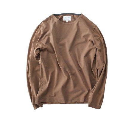 Still By Hand Hi Twist Long-Sleeve Shirt - Camel