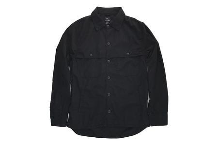 Save Khaki Camp Shirt Jacket - Black