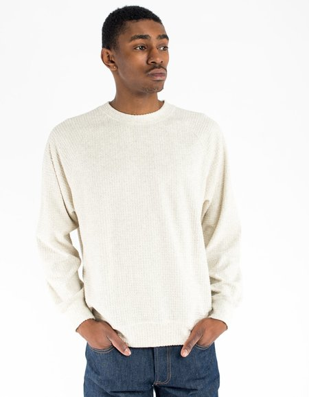 La Paz Cunha Sweatshirt - Light Grey Mesc Waffle