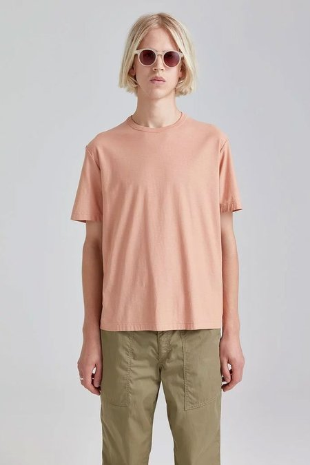 Our Legacy New Box T-Shirt - Pink Peach Jersey
