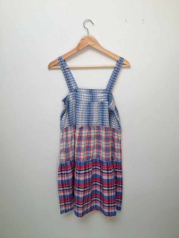 A.P.C. Madras Plaid Dress