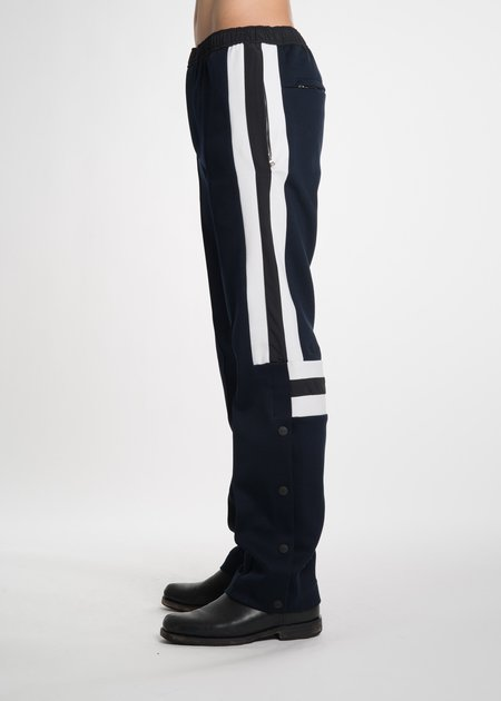 Tim Coppens Navy Pierced Jogger