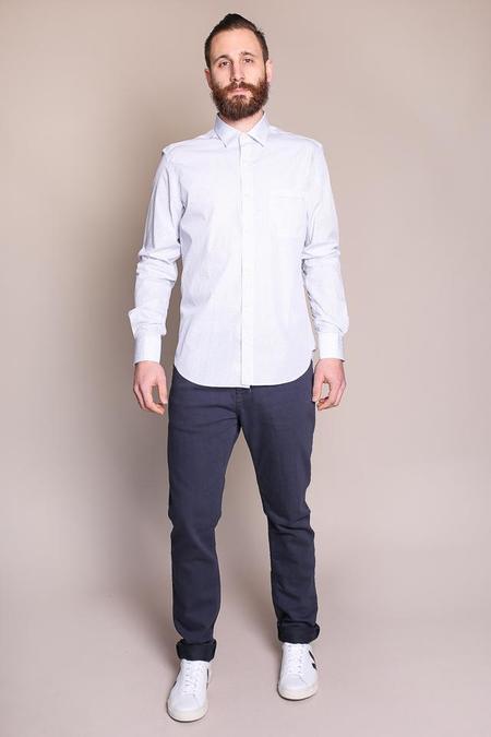 Culturata Geometric Heritage Print Shirt in White