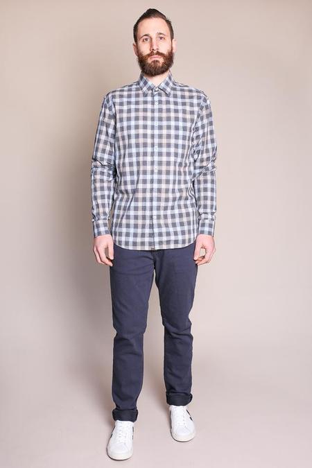 Billy Reid John T Shirt in Grey