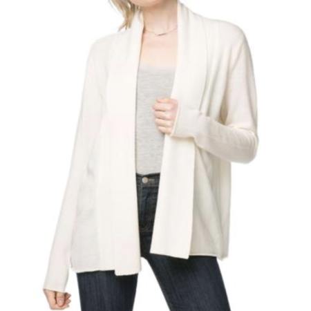 Subtle Luxury Chanelle Cashmere Crop Jacket