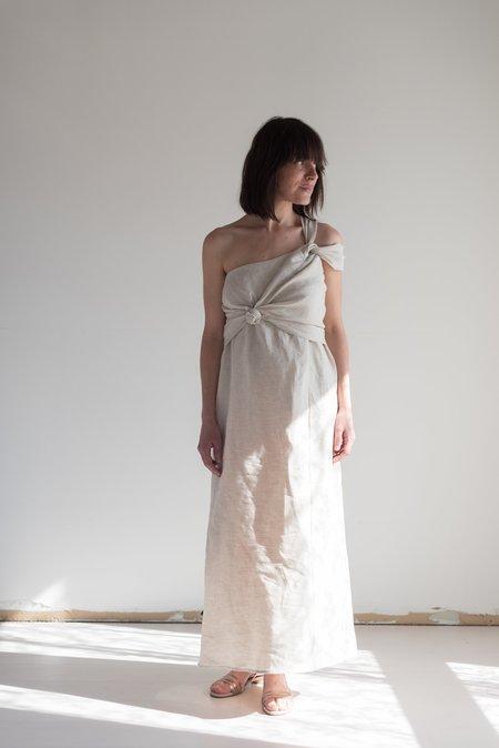 Shaina Mote Lark Dress - Flax Linen