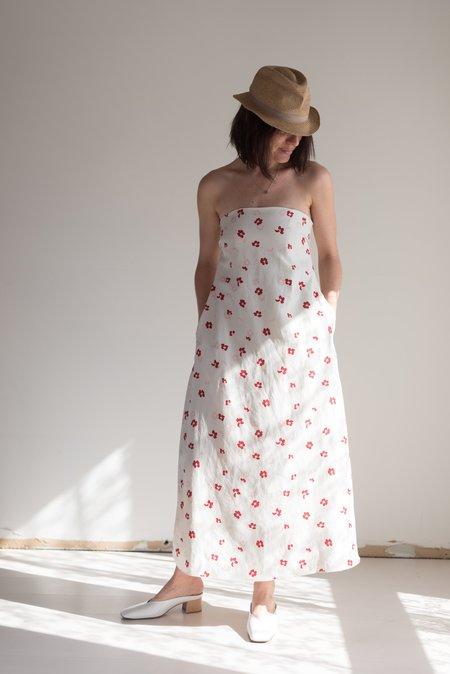 Caron Callahan Tham Dress - Hoa Floral
