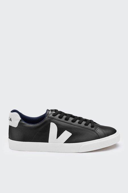 Unisex VEJA Esplar Low Leather - black/white