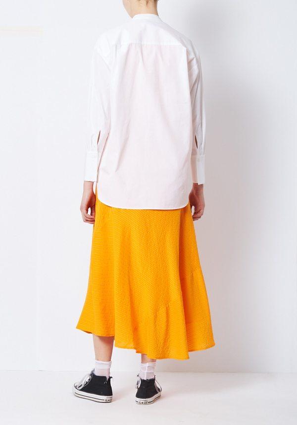 You Must Create Dorothy White Poplin Shirt