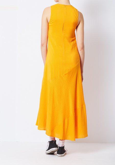 Ganni Wilkie Seersucker Dress ...
