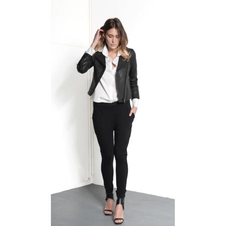 Ignore Maia Eco-Leather Jacket - Black