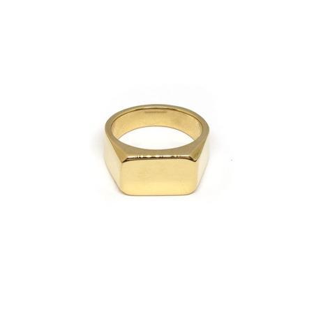 Molokai RUBY gold ring