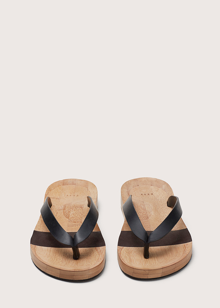 Unisex Wooden Flip Flop