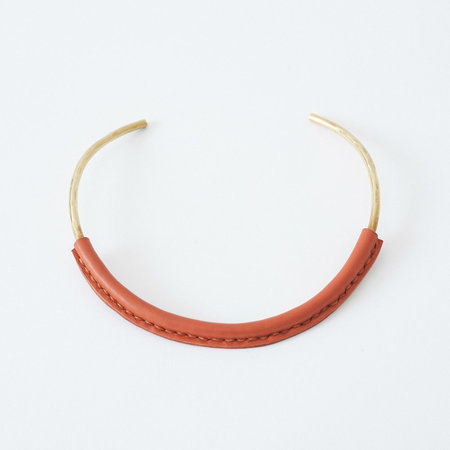 Crescioni Kiva Necklace - Terracotta