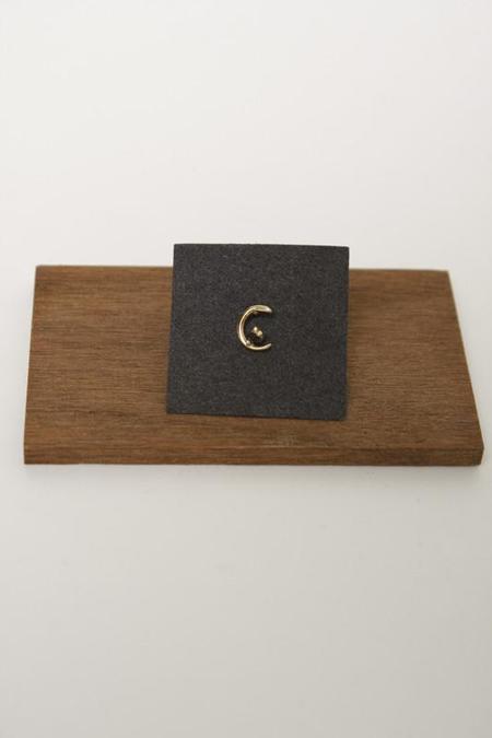Mociun Black Diamond Moon Ray Stud