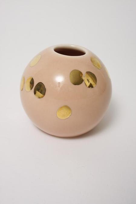 The Object Enthusiast Ball Vase - Peach