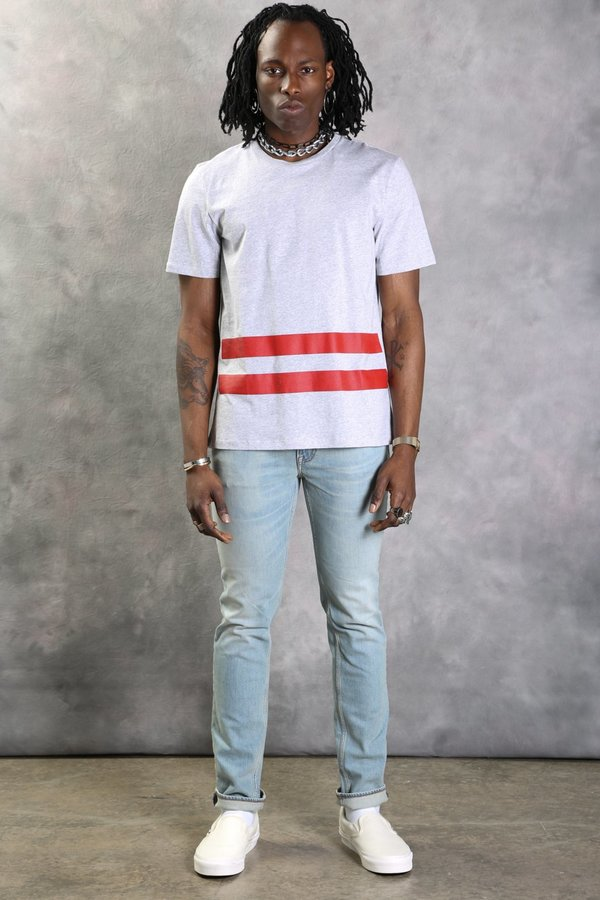 Helmut Lang T-Shirt with Stripes