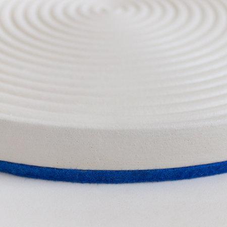 Lindsey Hampton Spindrift Plate - Blue/White
