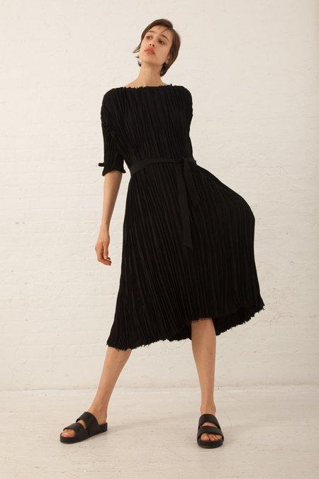 Shaina Mote Mae Dress in Onyx