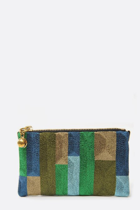 Anne Grand-Clément twilight tetris extra small pouch