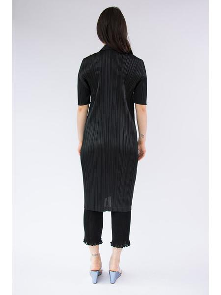 Issey Miyake Zip Front Dress - Black