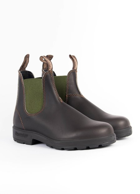 Blundstone #519 Chelsea Boot - Brown/Olive