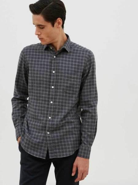 Hartford Paul Plaid Flannel Shirt