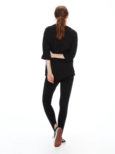 Maison Scotch Nomade Sweat in Black