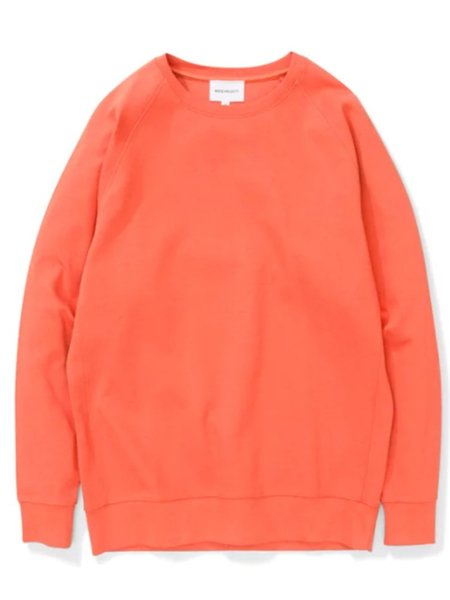 Norse Projects Vorm Sweatshirt in Burnt Red