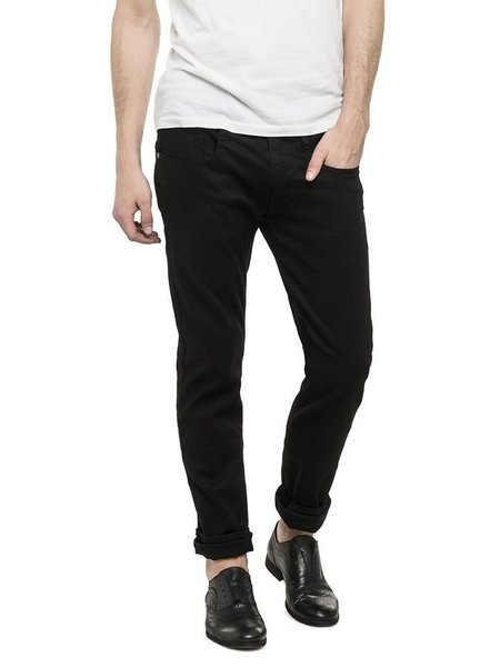 Replay Anbass Slim Fit Jeans - BLACK