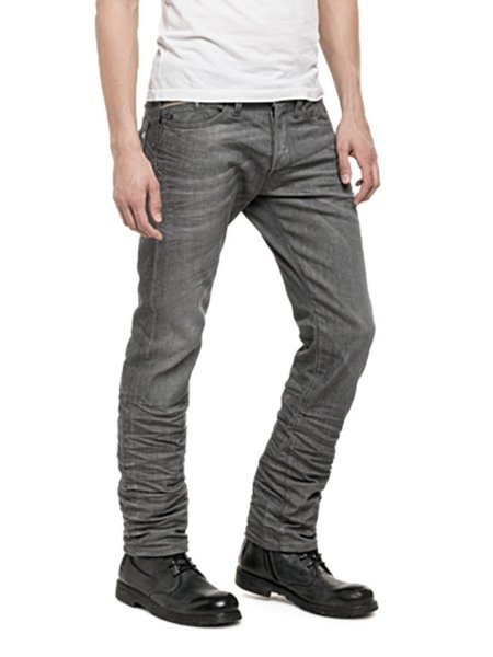 Replay Waitom Faded Jeans - GREY