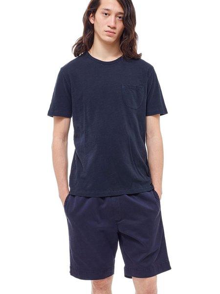 YMC Wild Ones Pocket T-Shirt in Dark Navy