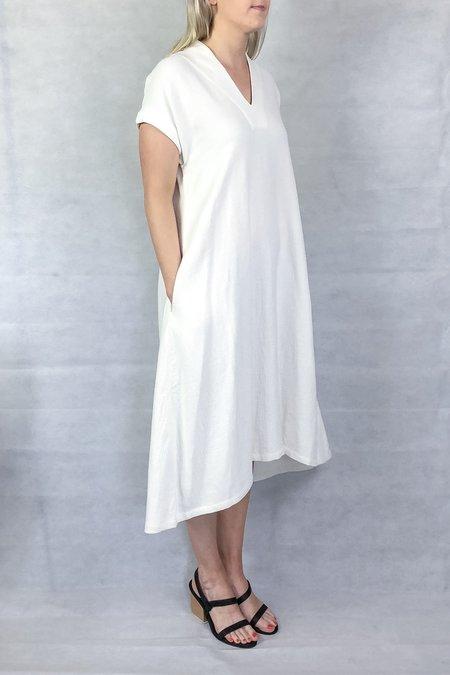 7115 by Szeki V-neck Midi Dress