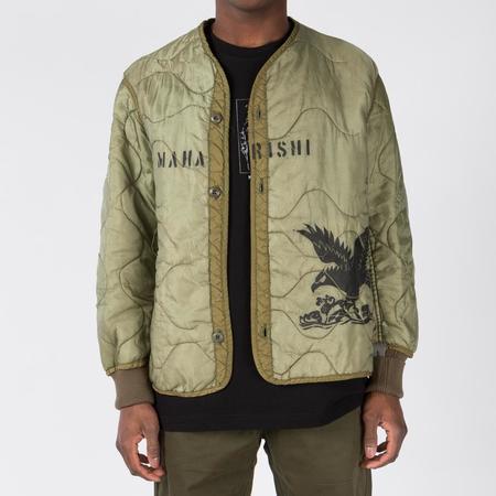 Maharishi Upcyled Militype Liner jacket - Olive