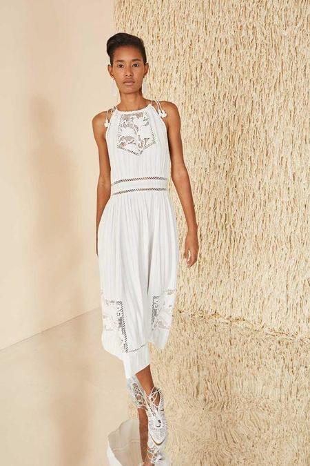 Ulla Johnson Hania Dress - Blanc