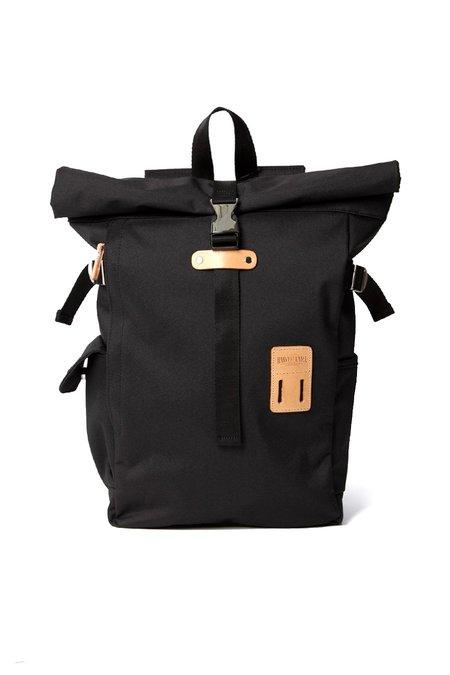 Harvest Label Rolltop Backpack Plus - Black