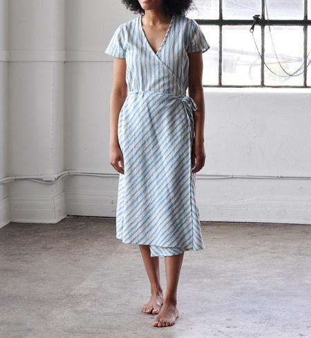 PO-EM Horizon Blue Ode Dress