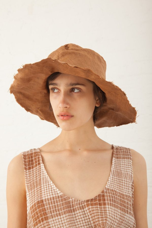 Reinhard Plank Viscose Big Textile Tom Hat - Light Brown